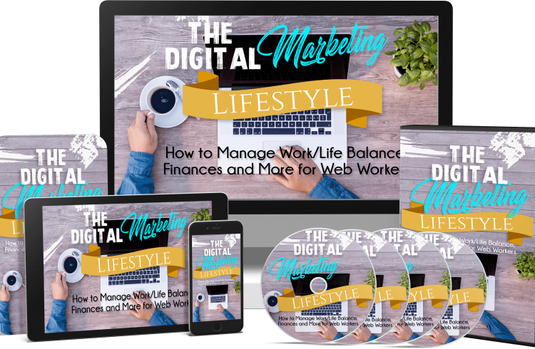 The Digital Marketing Lifestyle PLR by Sajan