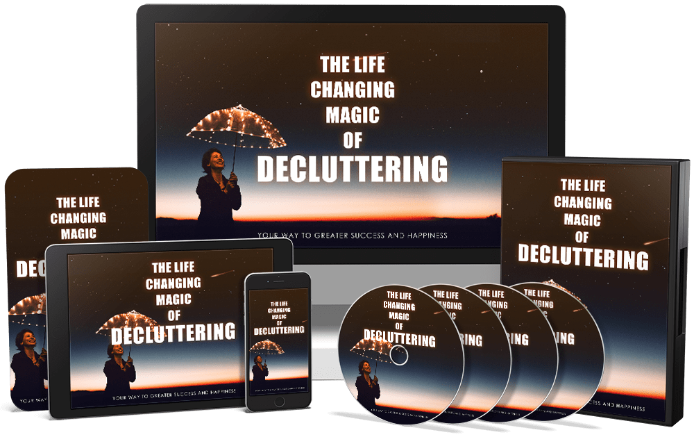 The Life Changing Magic of Decluttering PLR