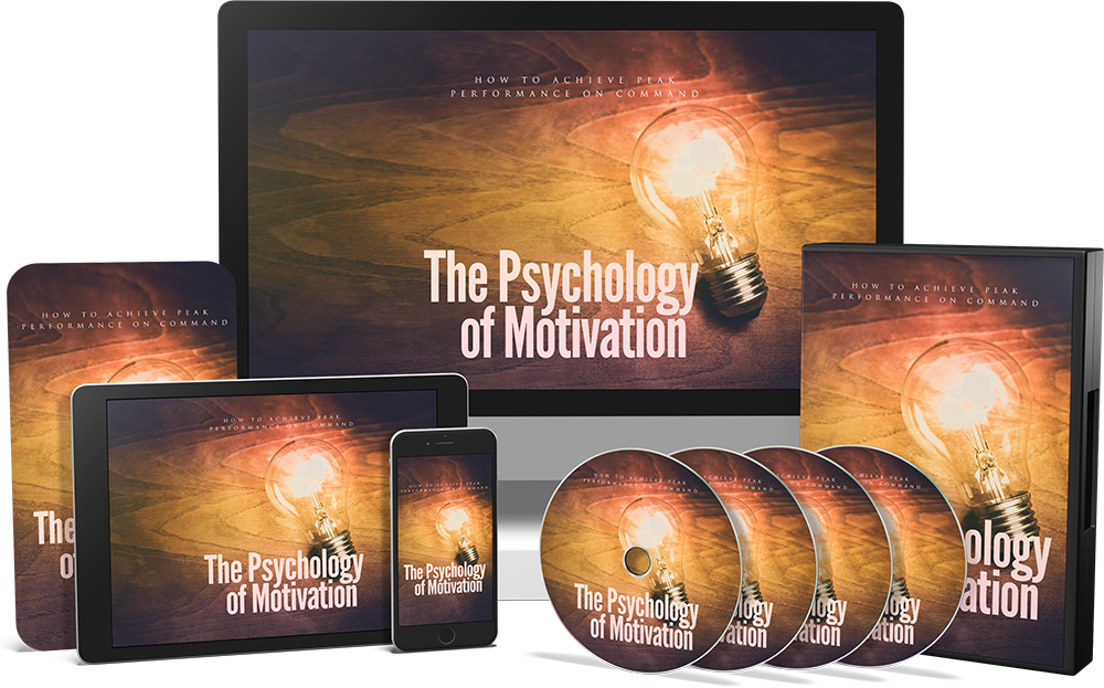 The Psychology of Motivation PLR